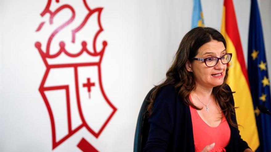 Oltra pide que la reforma constitucional no se limite a eliminar aforamientos