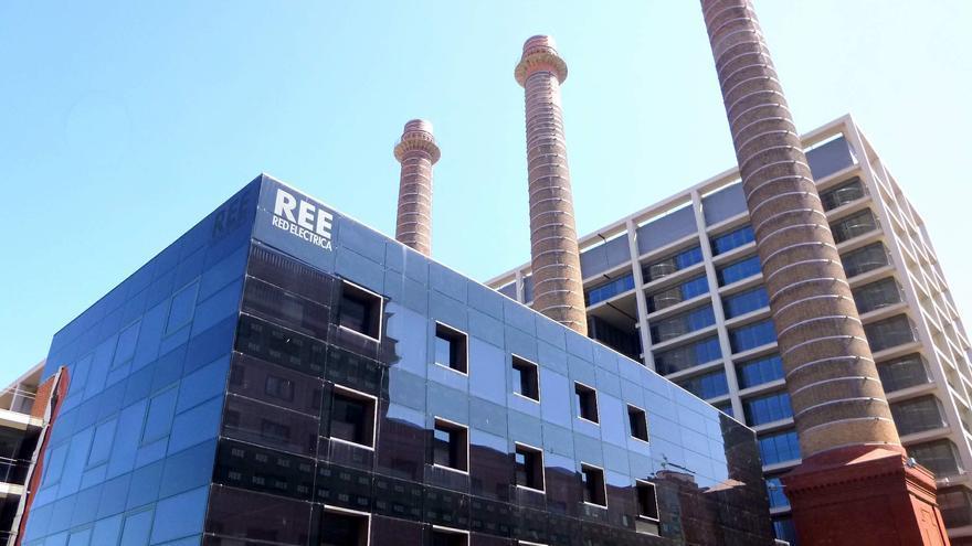 Edificio de Red Eléctrica en Barcelona.
