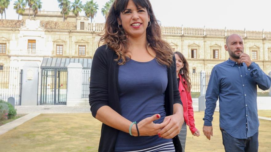 """Teresa Rodríguez llama a construir un Podemos Andalucía """"que gane las próximas elecciones a Susana Díaz y Juanma Moreno"""""""
