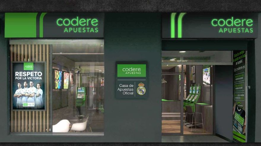 Un local de Codere.