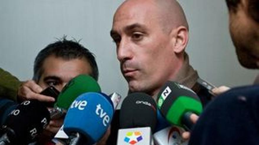 Luis Rubiales, presidente de la AFE.
