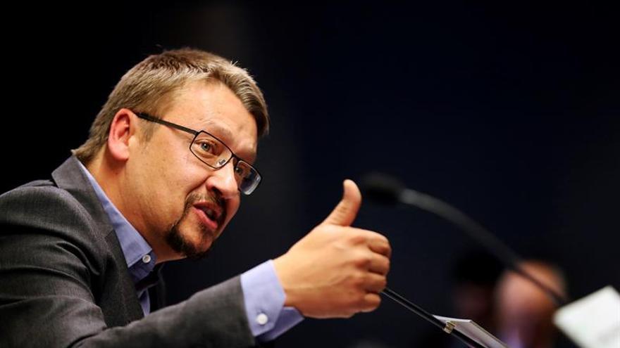 """Domènech propone un acuerdo que permita superar """"el marco estatutario actual"""""""