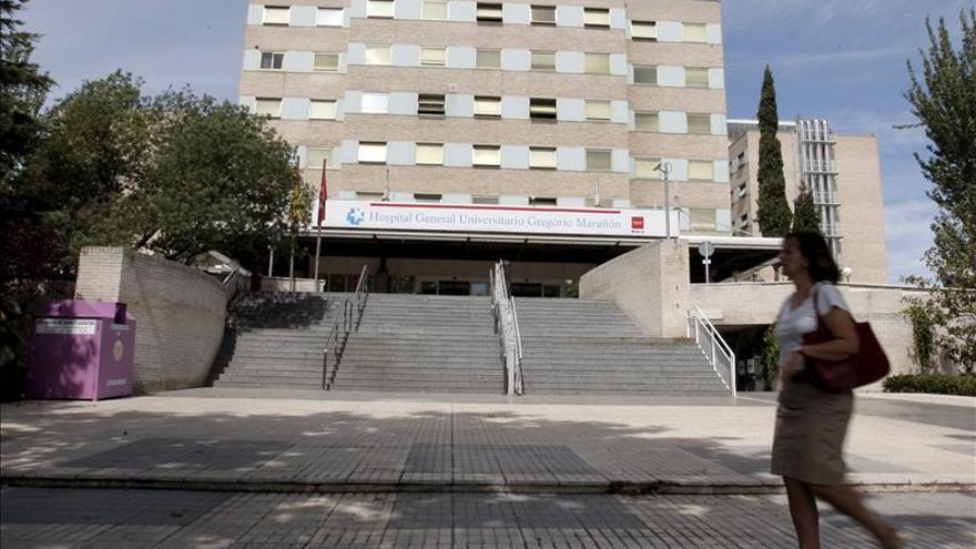Fachada del Hospital Gregorio Marañón de Madrid