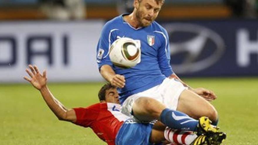 Paraguay trastabilla a Italia