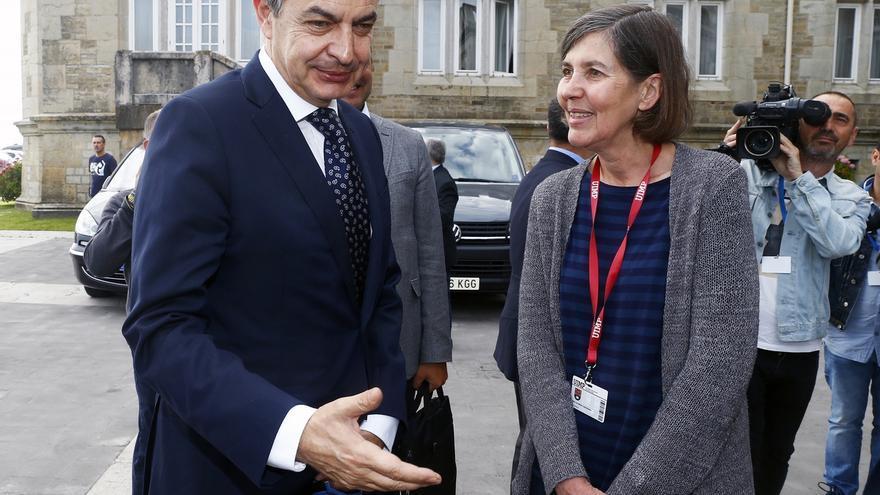 """Zapatero destaca el """"sentido de la responsabilidad"""" y la """"vocación de trabajo"""" del Rey Felipe VI"""