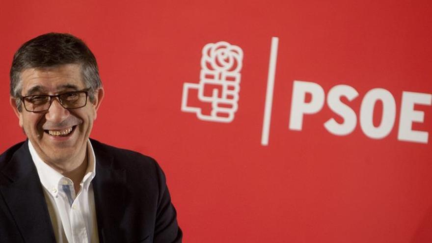 Patxi López hará una gira los próximos días entre las principales federaciones del PSC