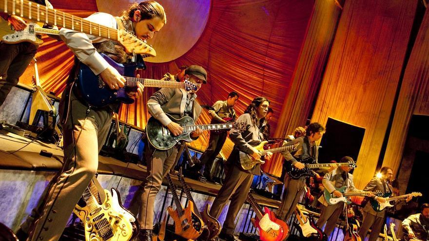 'Sinfonity', la primera orquesta de guitarras eléctricas, elviernes en el Palacio