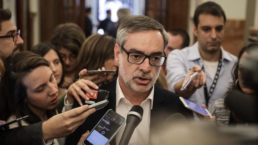 """Villegas (Cs) dice que el déficit dependerá del crecimiento y ve """"teatro"""" en el PNV ante los Presupuestos"""
