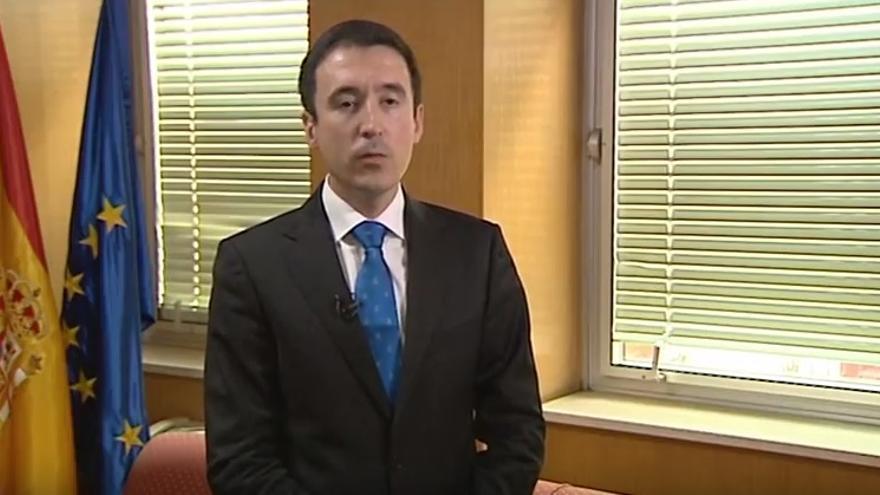 El Director de Evaluación del Ministerio de Educación, en un vídeo.