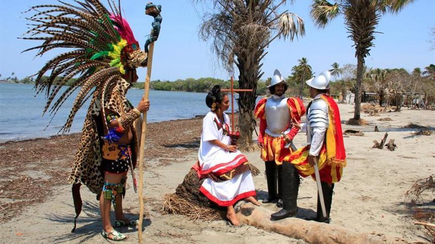 La conquista y perdón de españoles a México vista por un cronista chontal