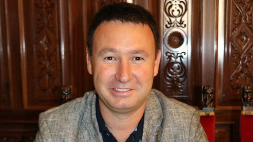 El ex secretario general del PSOE de Linares, Daniel Campos.