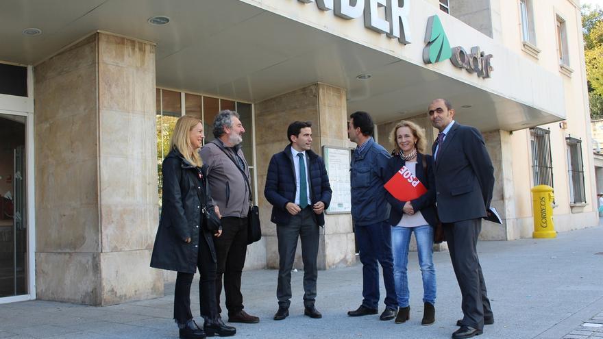 """El PSOE asegura que el Plan de Cercanías de Cantabria es su """"prioridad política"""""""