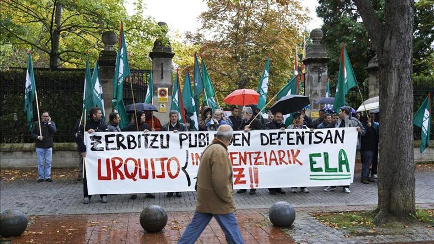 Los vascos vivirán mañana la octava huelga general desde el inicio de la crisis