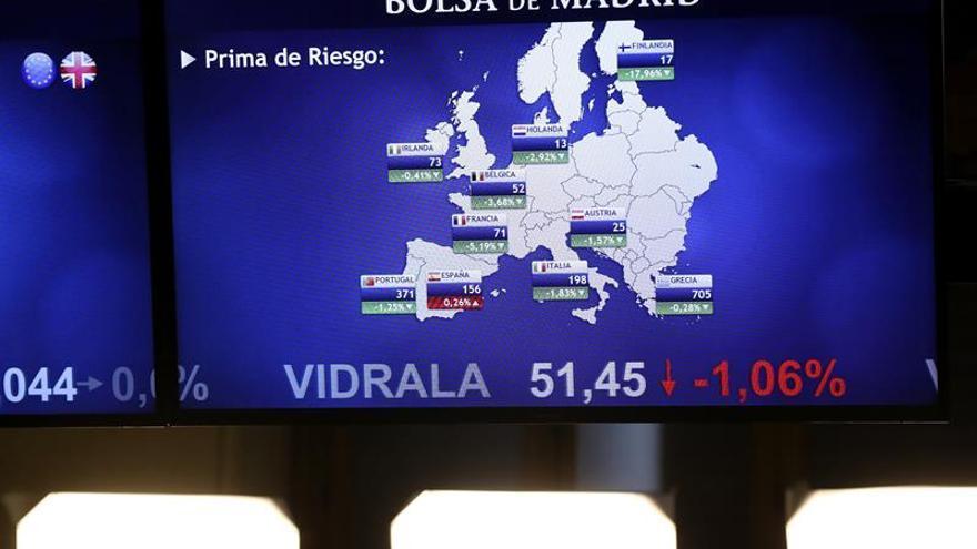 La prima de riesgo española baja a 138 puntos por la caída del bono español