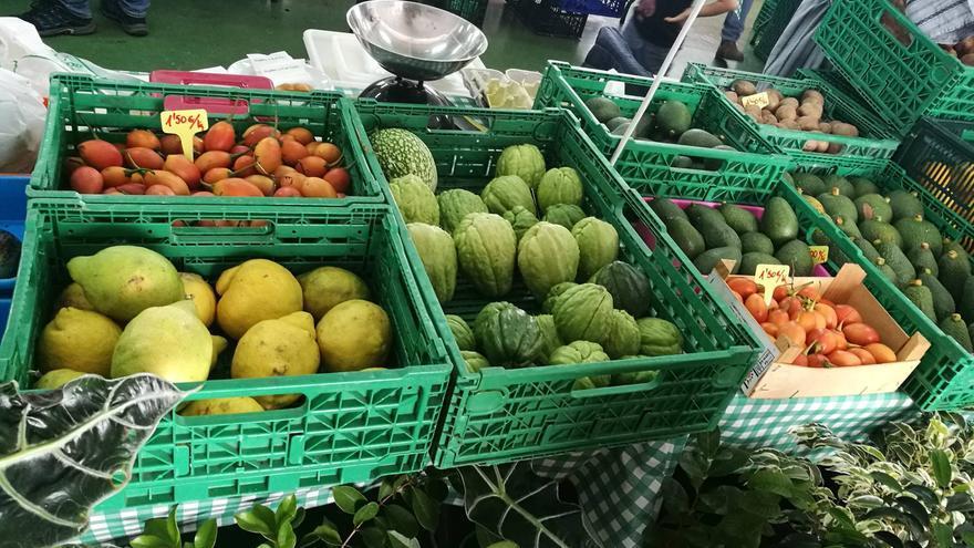 Productos de La Palma en el Mercadillo de Puntallana.