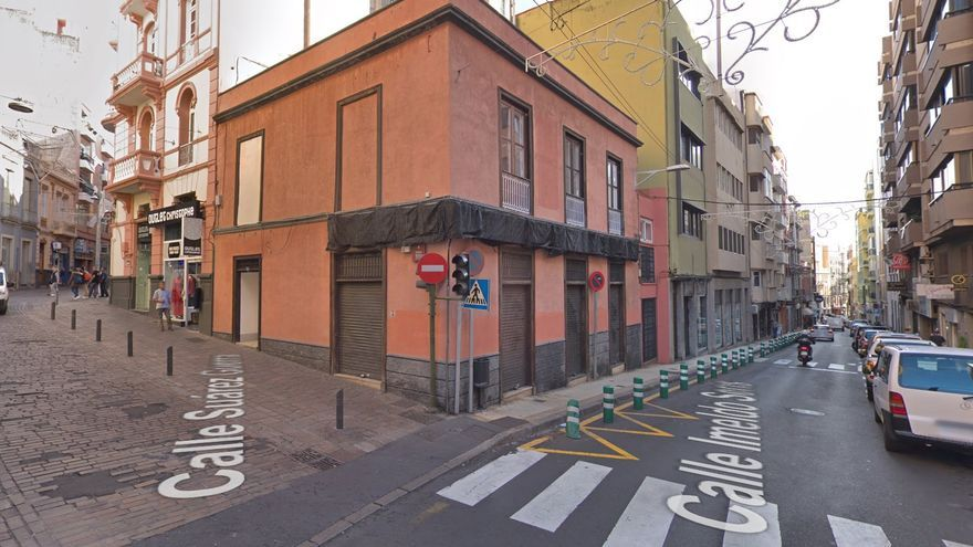 Calle Imeldo Serís, en el centro de Santa Cruz de Tenerife