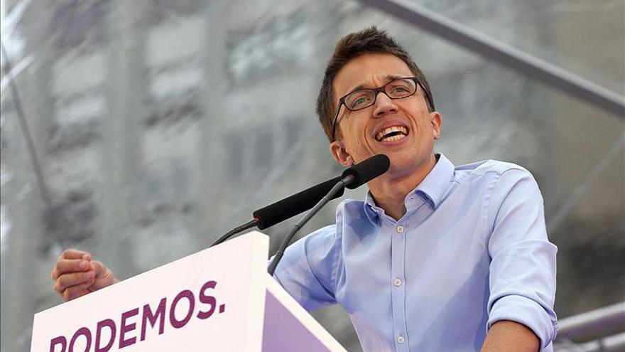 """Errejón advierte de que """"hay 705 políticos investigados que hay que conocer antes del 24M"""""""