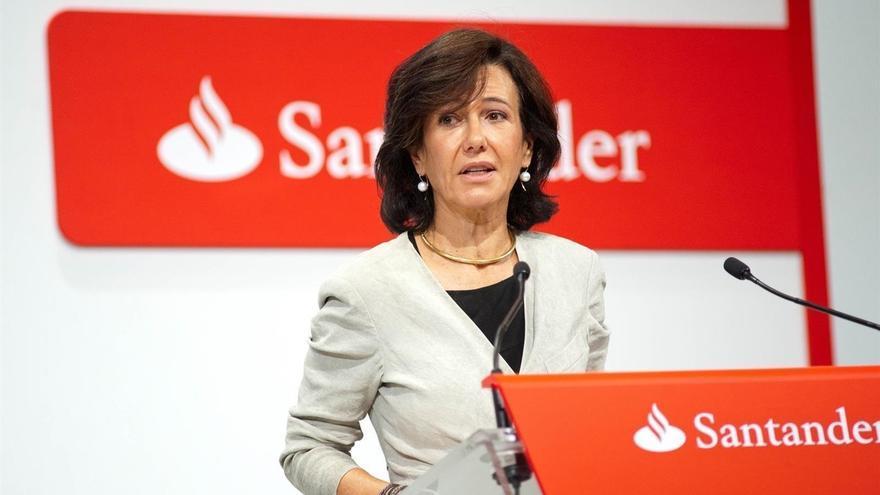 """Ana Botín dice que la salida a Bolsa de las filiales del Santander """"ya no será una prioridad"""""""