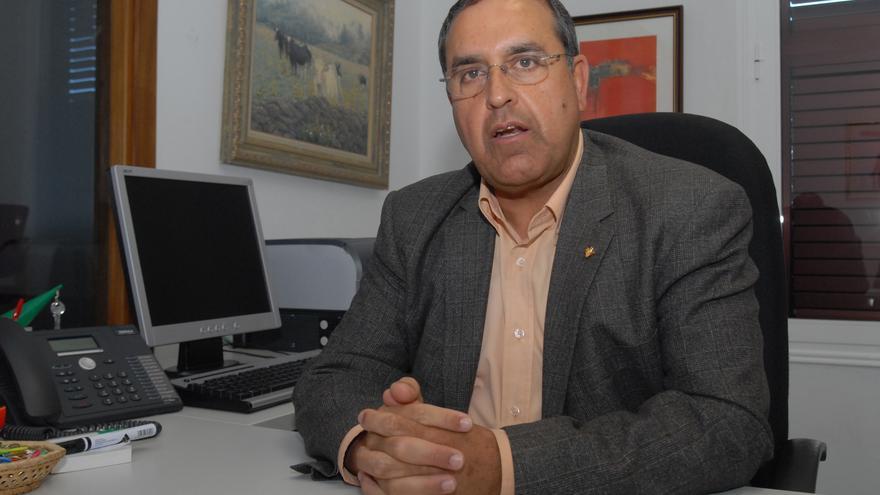 Juan Miguel Padrón, alcalde de El Pinar