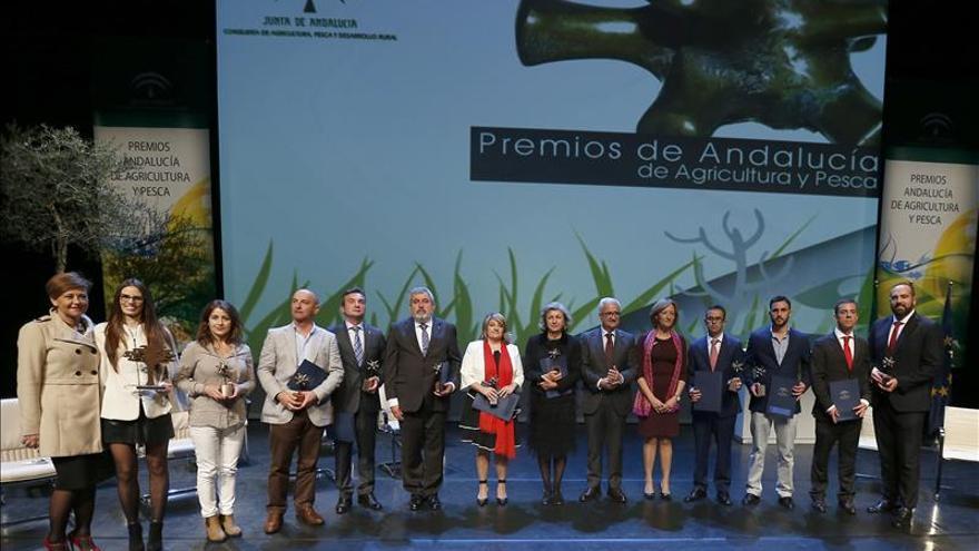 El premio Andalucía Agricultura y Pesca valora 25 años de labor de Efeagro