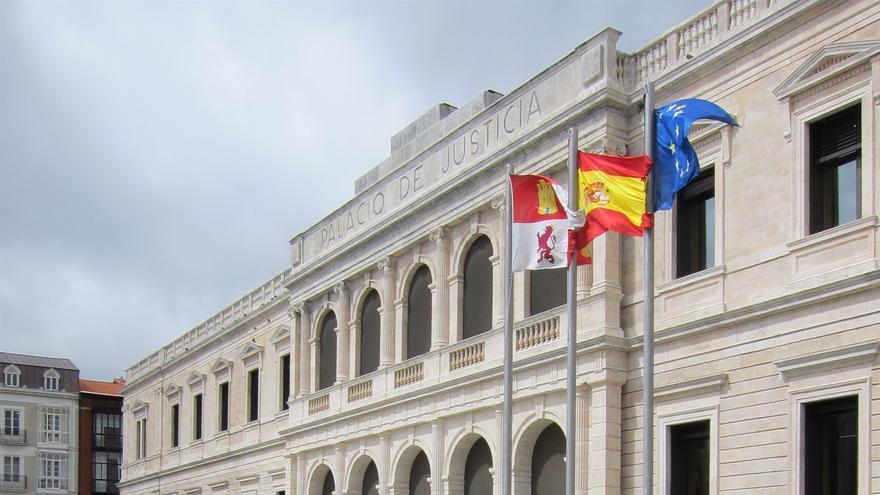 Sede del Tribunal Superio de Justicia de Castilla y León, en Burgos.