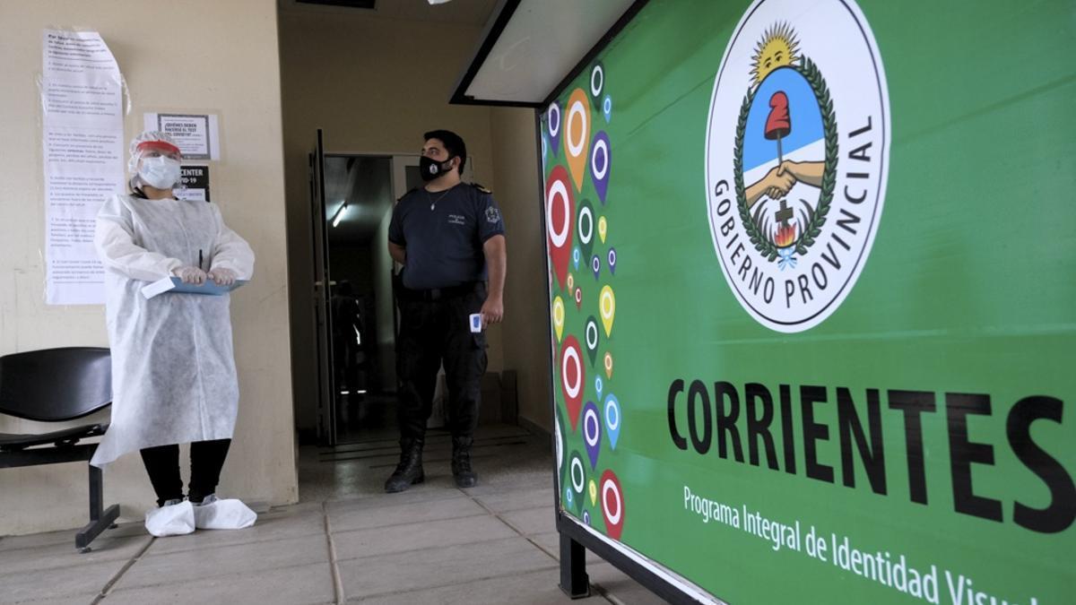 Vacunación en Corrientes.