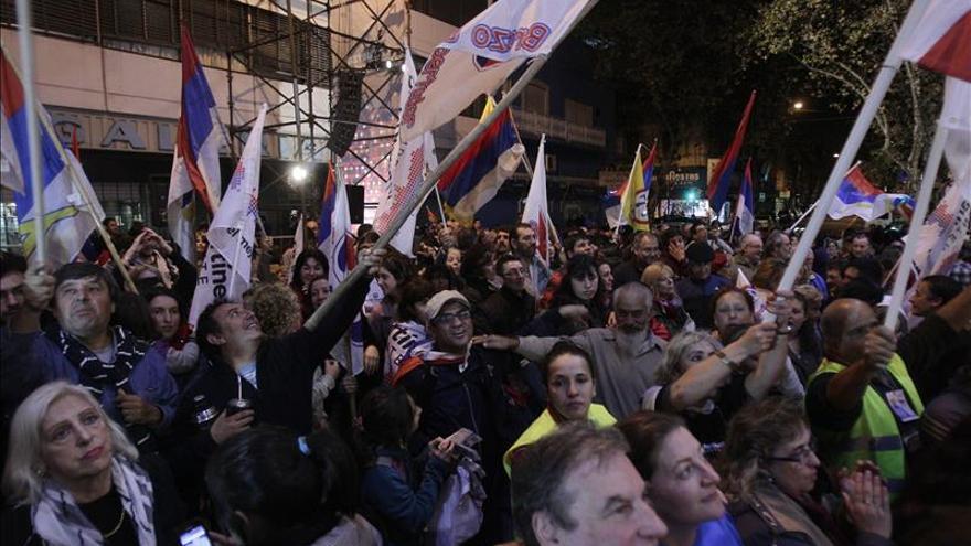 La Izquierda uruguaya gana en los principales departamentos, según los primeros resultados