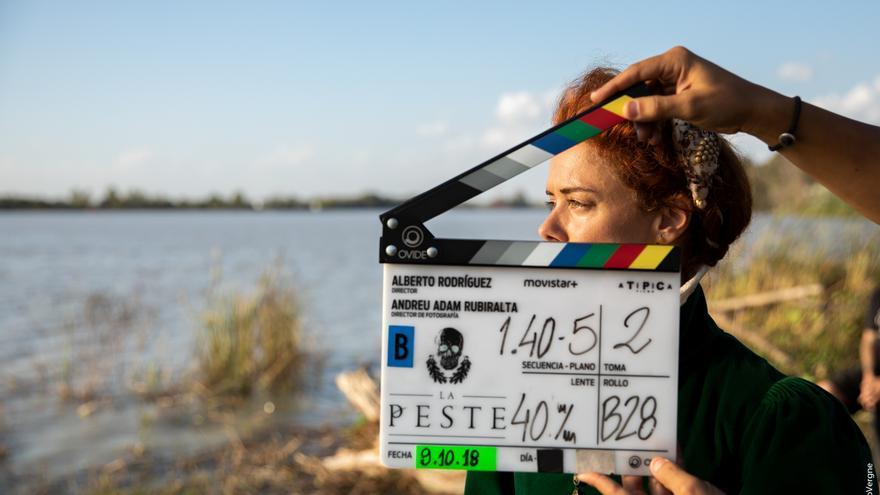 Fotos: el rodaje de la segunda temporada de La Peste alcanza su ecuador