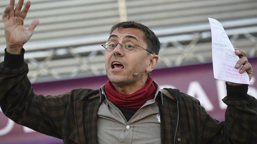 """Monedero anima a votar al Senado para que el PP """"no lo use como un castillo"""""""