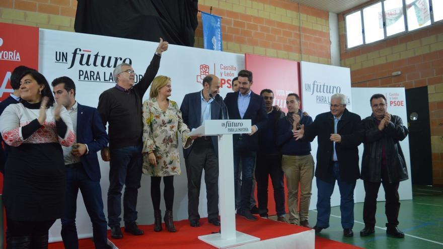 """Rubalcaba pide el voto """"para la única izquierda a la que teme la derecha"""""""