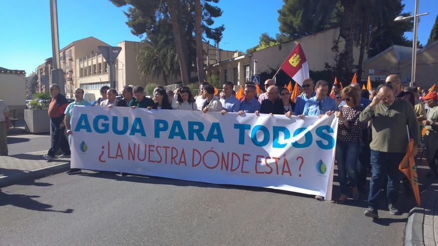 Manifestación, este sábado, en Hellín (Albacete) contra el expolio de agua
