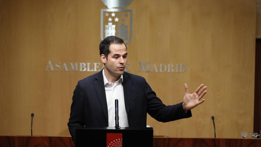 """Ignacio Aguado al PP: """"Tiene que elegir entre mantener a Cristina Cifuentes o mantener el Gobierno regional"""""""