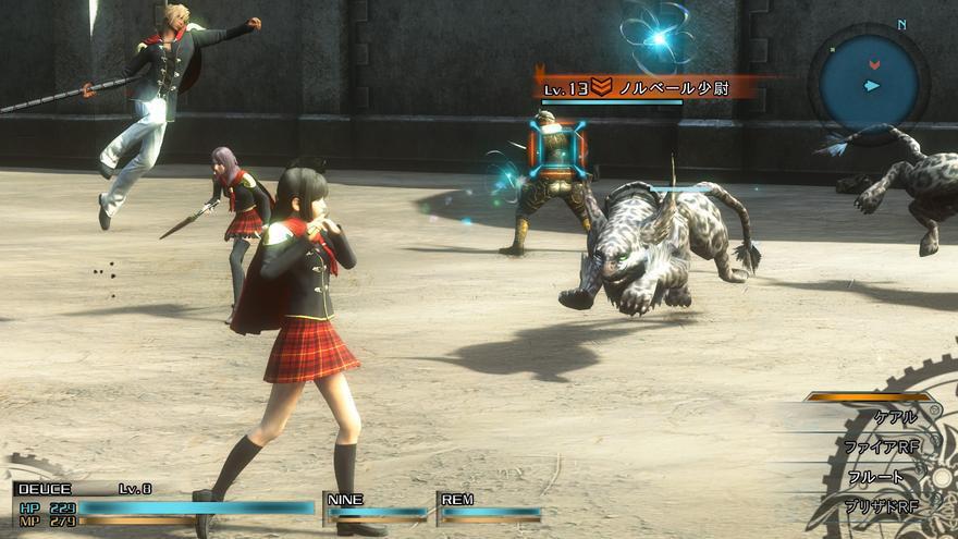 Avance Final Fantasy Type 0 Hd Rol En Un Mundo En Guerra