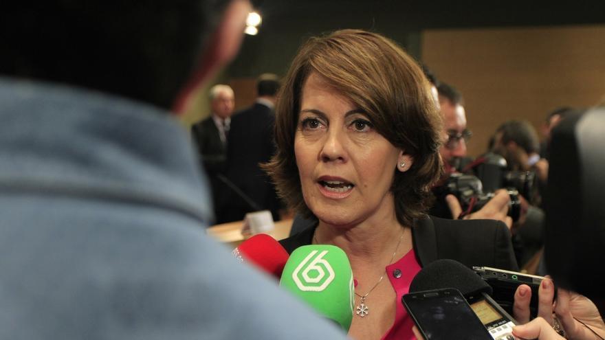 """Barcina presentará su candidatura para ir en la lista de UPN al Parlamento y """"apoyar"""" a su partido"""
