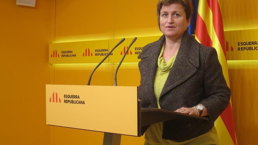 """Anna Simó (ERC) asegura que no repetirán coalición con el PDeCAT porque eso era un """"compromiso temporal"""""""