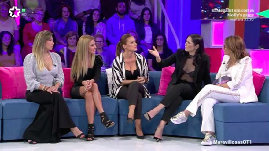 """Las chicas de OT 1, en Telemadrid: """"En cuanto pudimos pedimos la carta de libertad porque nos engañaban"""""""