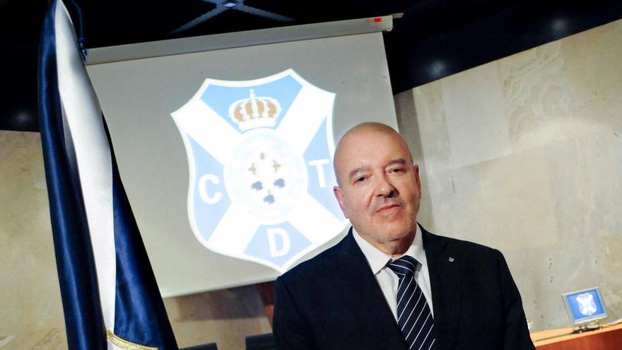 Miguel Concepción, presidente del CD Tenerife.