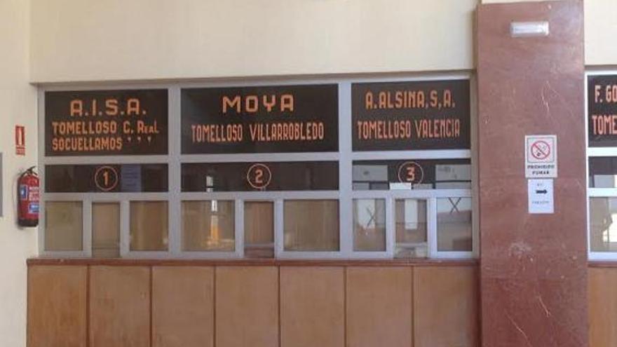 El estado actual de la estación de autobuses en Tomelloso / Foto: Javier Robla
