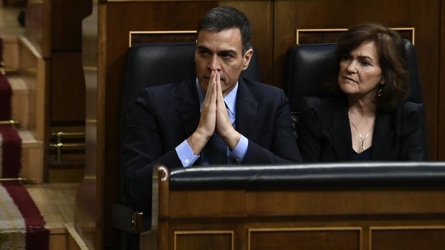 PP, Podemos y ERC quieren que Pedro Sánchez haga balance la próxima semana en el Congreso de su mandato