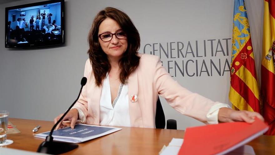 """Oltra acusa a Montoro de """"inmoral"""" por hacer oposición al Gobierno valenciano"""