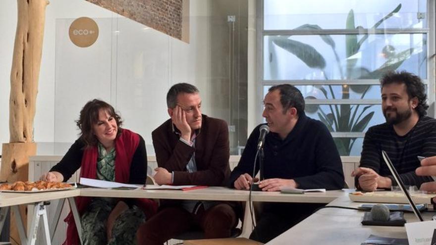 Presentación del Festival EcoZine en Madrid, el pasado 1 de abril. Imagen de Violeta Assiego.
