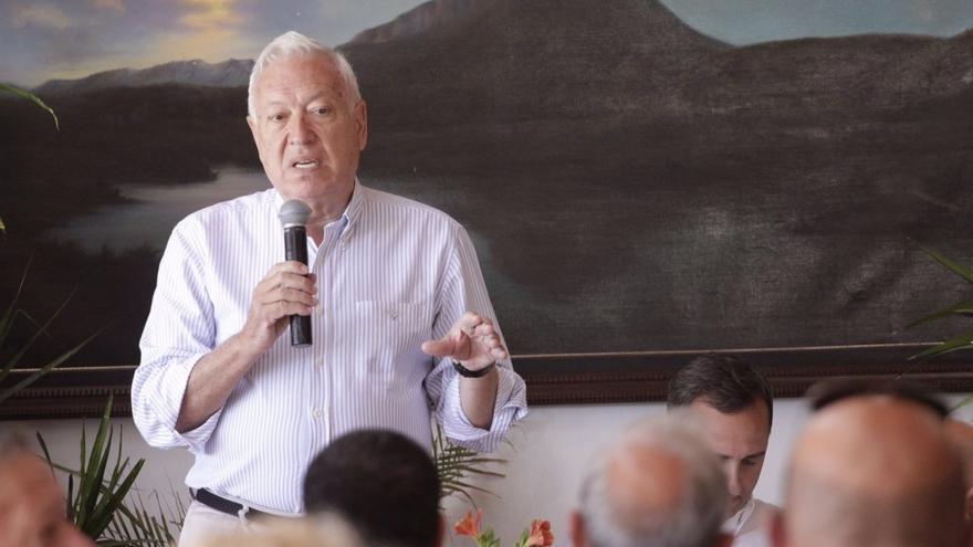 """Margallo espera que """"la bandera de España en el Peñón esté mucho más cerca que lejos"""""""