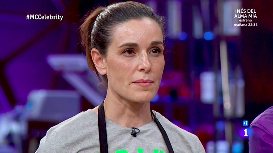 Raquel Sánchez Silva al ser expulsada de 'Masterchef celebrity'