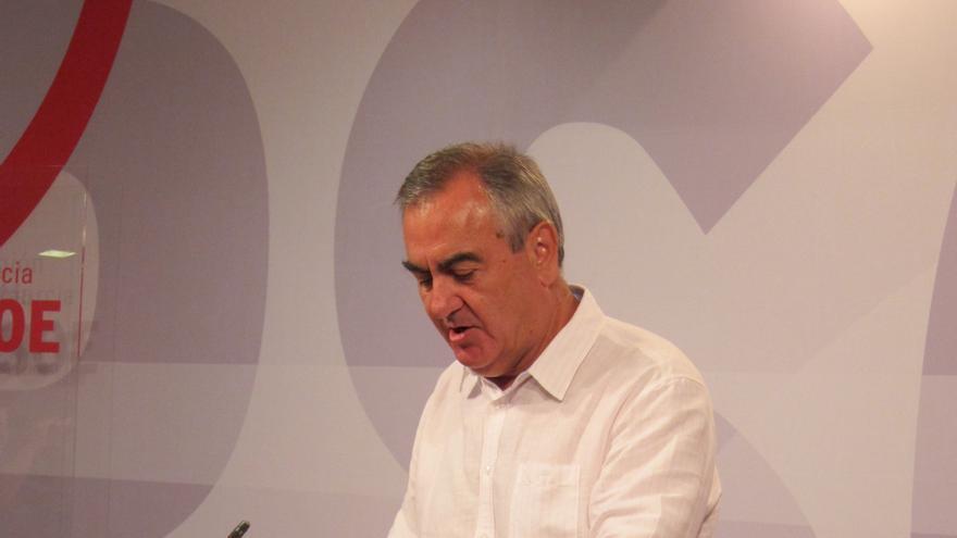 PSOE vaticina un recorte en el presupuesto de Murcia de 1.500 millones por pedir el rescate