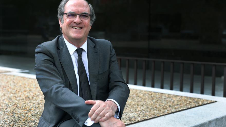 El candidato del PSOE a la Comunidad de Madrid, Ángel Gabilondo.