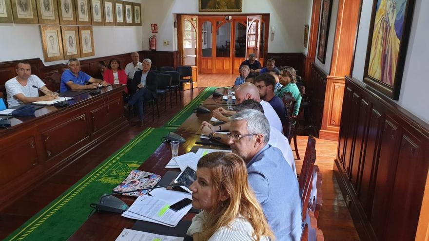 Imagen con el pleno de este martes en el Ayuntamiento de Güímar