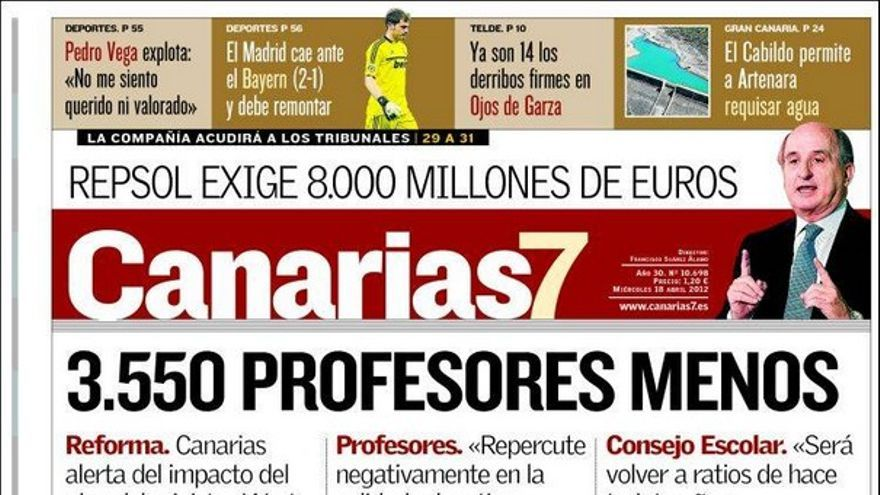 De las portadas del día (18/04/2012) #2