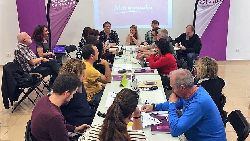 Reunión extraordinaria del Consejo Ciudadano Autonómico de Podemos.