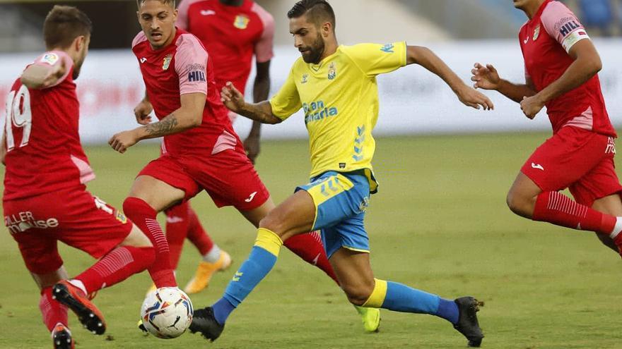 La UD Las Palmas salva un empate frente al Fuenlabrada