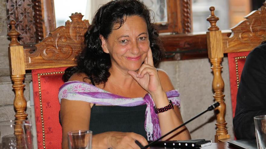 Guadalupe Parrilla, concejal de Educación de Santa Cruz de La Palma.
